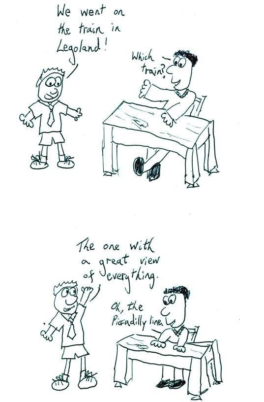 A communication breakdown in enthusiasm.